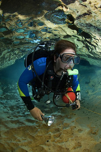 George Rice explores the beauty of Madison Blue Springs State Park by traveling through the depths of its cave system.