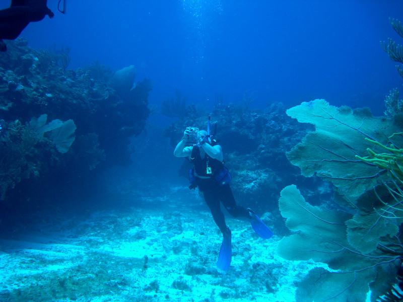 Norbert, my dive buddy.