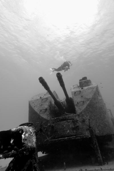 Russian Frigate, Cayman Brac