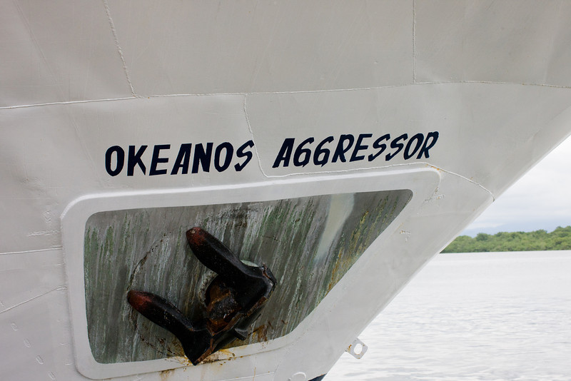 We arrived in Puntarenas to board the Okeanos Aggressor.