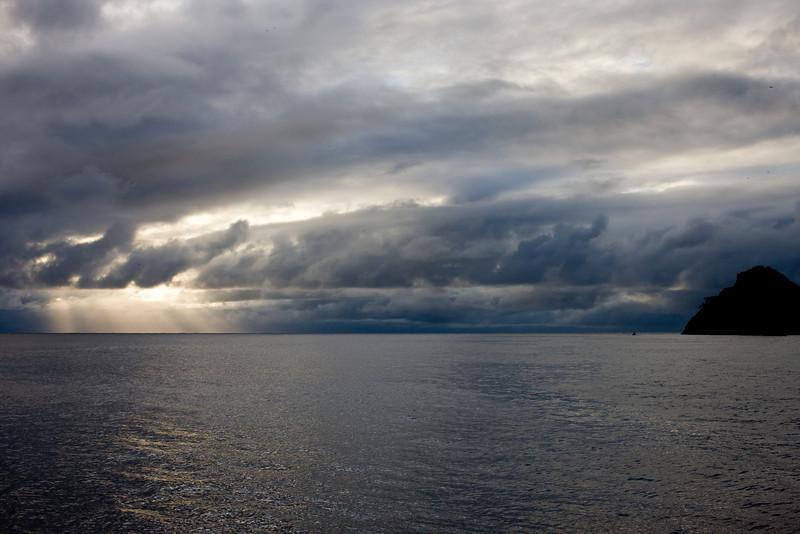 Rainy season, Cocos Island, Costa Rica.