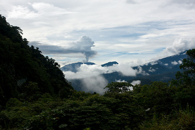 Volcano East of San Jose, Costa Rica
