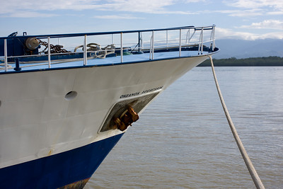 Okeanos Aggressor at dock Puntarenas, Costa Rica