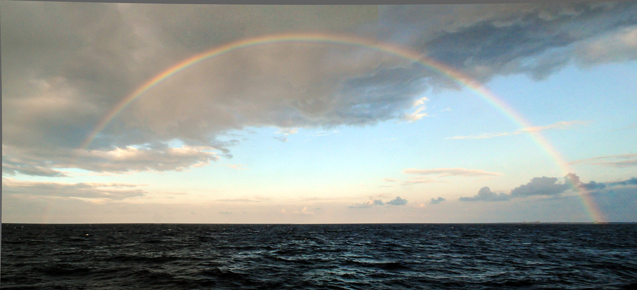 From the ferry back to the mainland, Cozumel - November 2011