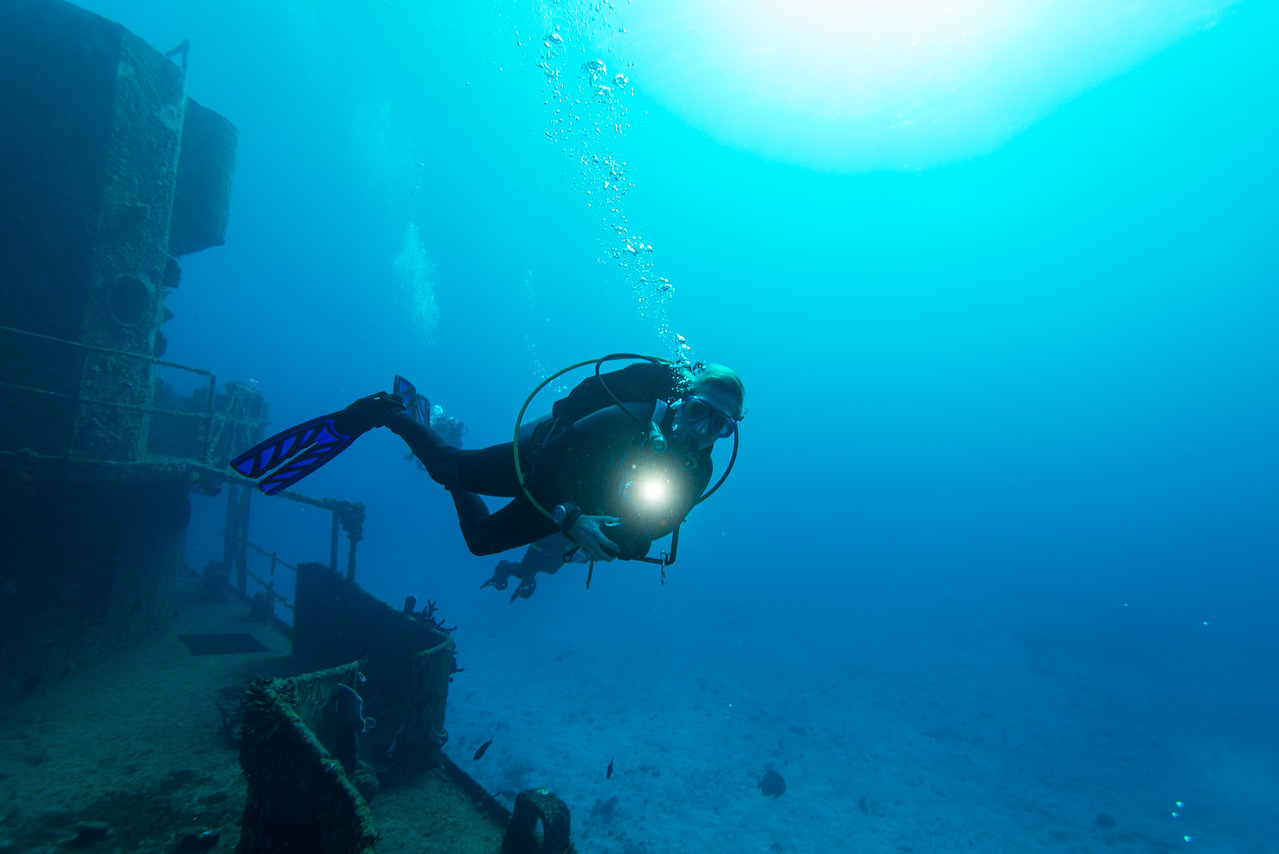 C-53 Wreck - Cozumel, Mexico - March 2016