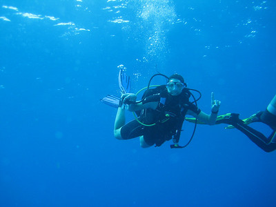 Carrie, #1 diver!