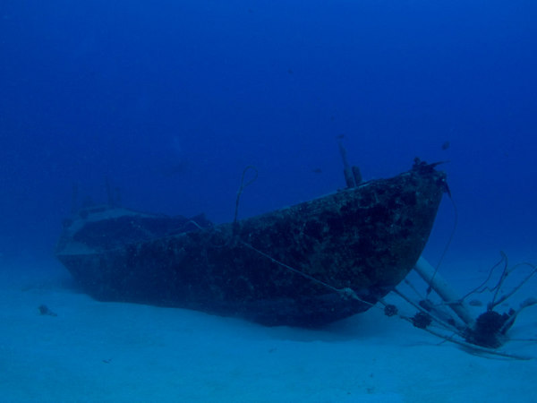 Wreck of the Naked Lady