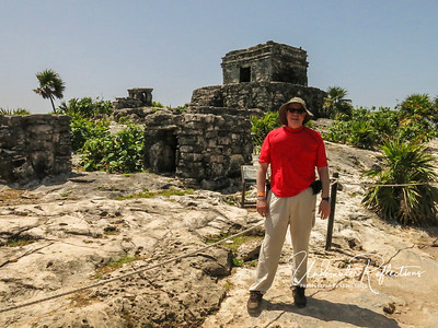 Me...among the Tulum ruins