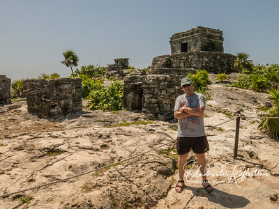 Old, worn remnant of better days...plus some Tulum ruins