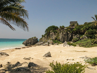 The old port of Tulum