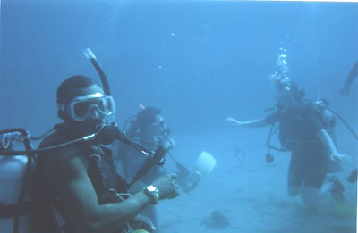 great divemaster, I forget his name