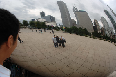 obligatory picture through the bean.