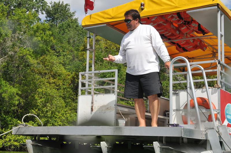 Dive Boat Captain, Homosassa River - April 2009