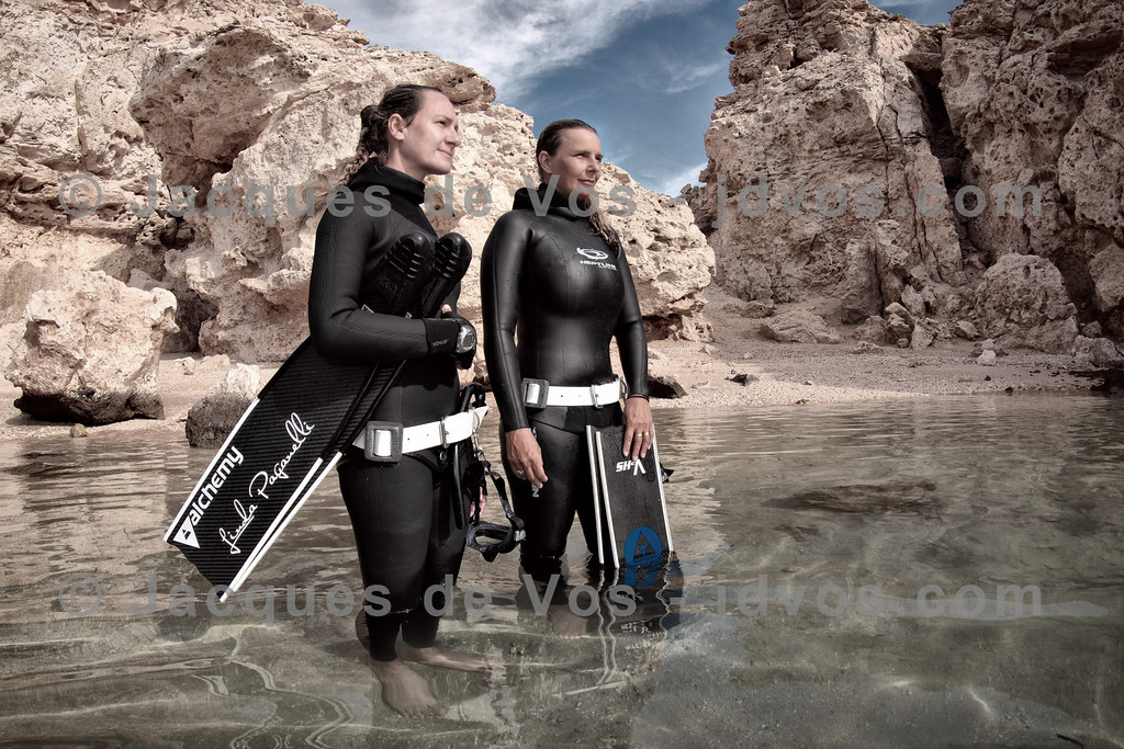 Freedive International<br /> <br /> Record Freedivers Linda Paganelli and Lotta Ericson of the renowned Freedive International (Freedive Dahab)