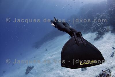 A Beautiful Silence...  Lotta Ericson - Dahab Egypt Shot taken while Freediving  Ikelite 7D Housing (8'' Dome Port) Ikelite DS-161 Strobes