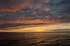 Lovely sunset off Isabela island
