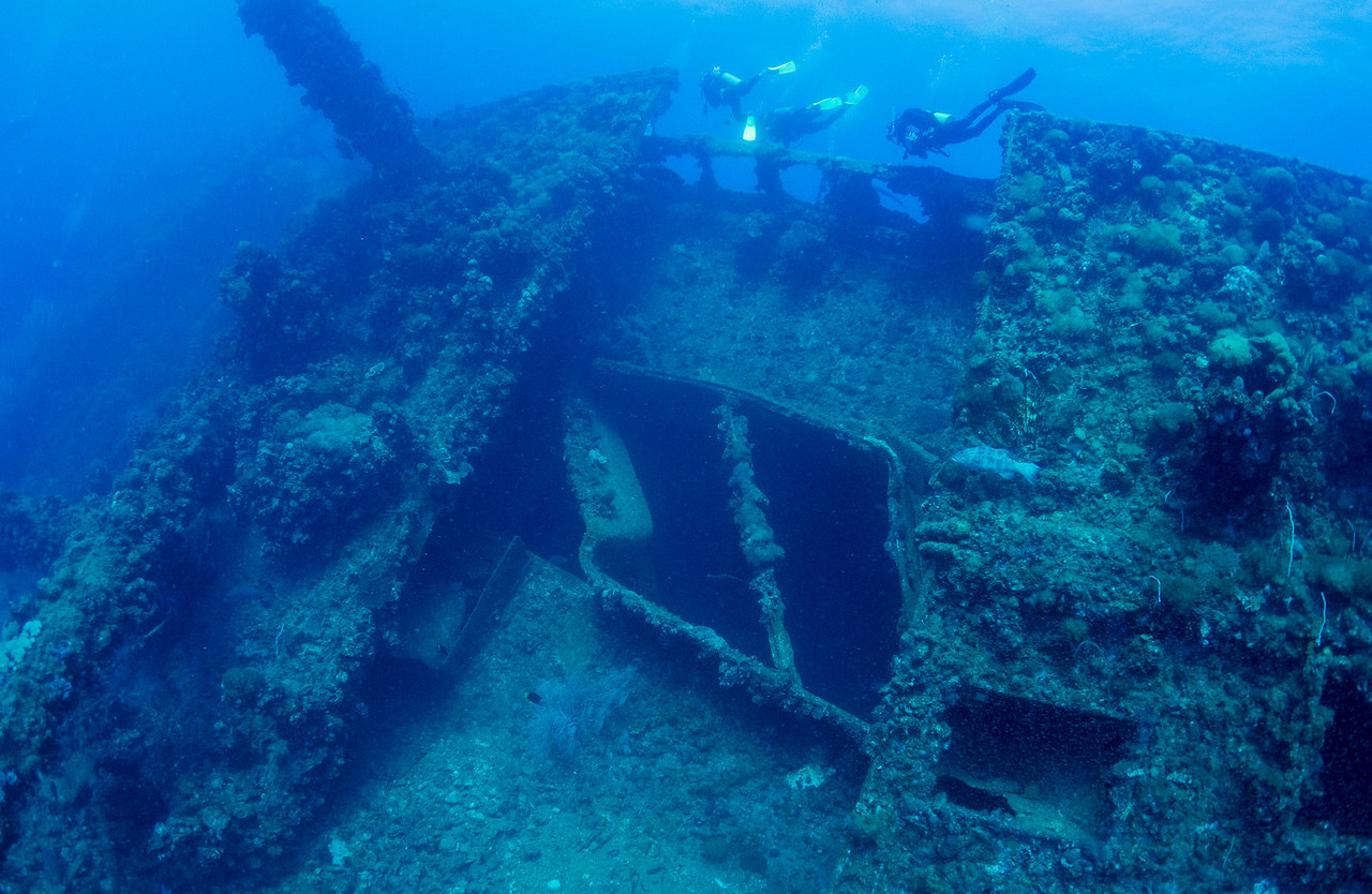 SS Yongala August 2012