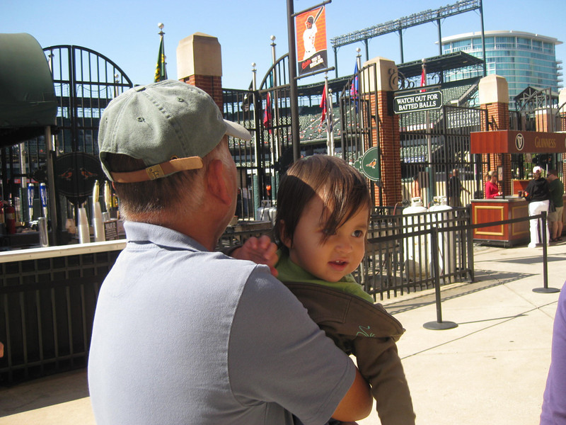 D and Lolo can't wait to see the O's lose their final home game.