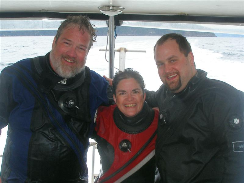 Tom, Valerie and Doug (survey buddies)