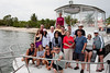 Our dive boat Fantasea with the group and divemasters Alex and Sharon.