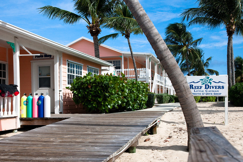Reef Divers at the Little Cayman Beach Resort