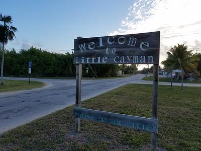 Leaving Little Cayman