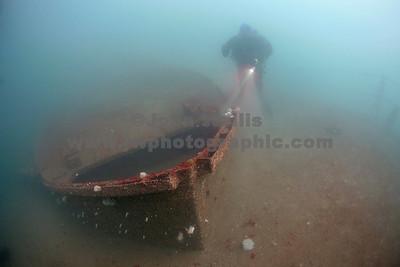 Scylla Seawolf gunwal