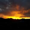 Fire & Rain at Sunset
