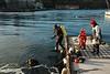 2007-12-31. Nyårsdyk på fregatten Kalmar i Marstrandshamn. MASG-arrangemang.