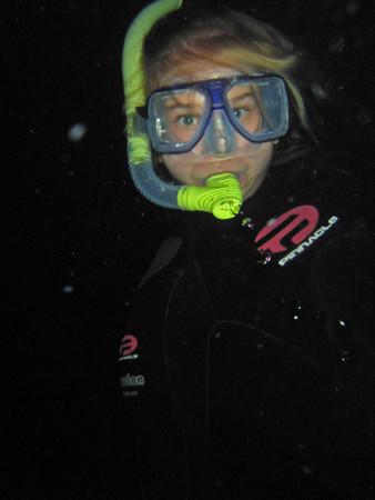 Manta Night Divers and Snorkelers in Kona HI