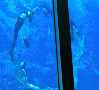 Dancing underwater!