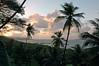 Sunset over lagoon, Pohnpei