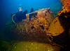 Jamon in Zero in hold of the Fujikawa Maru