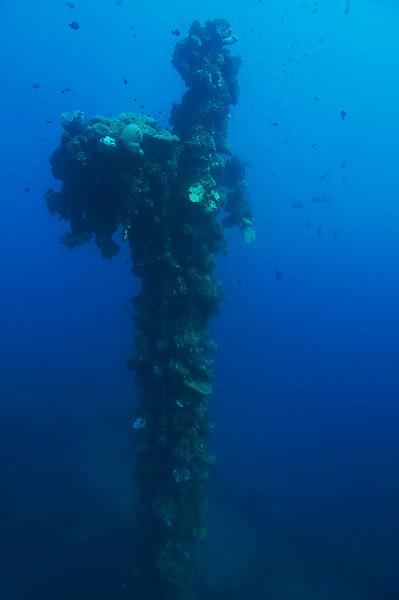 Mast of the Seiko Maru