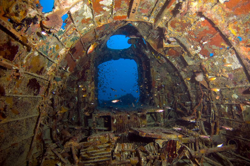 Inside the Betty Bomber