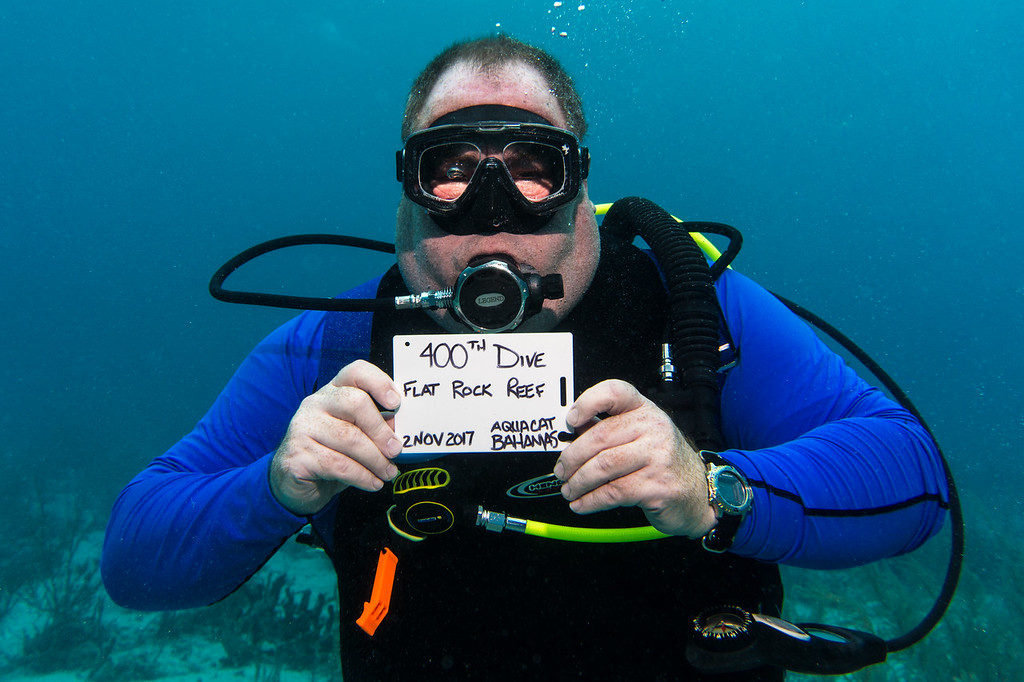 My 400th dive!