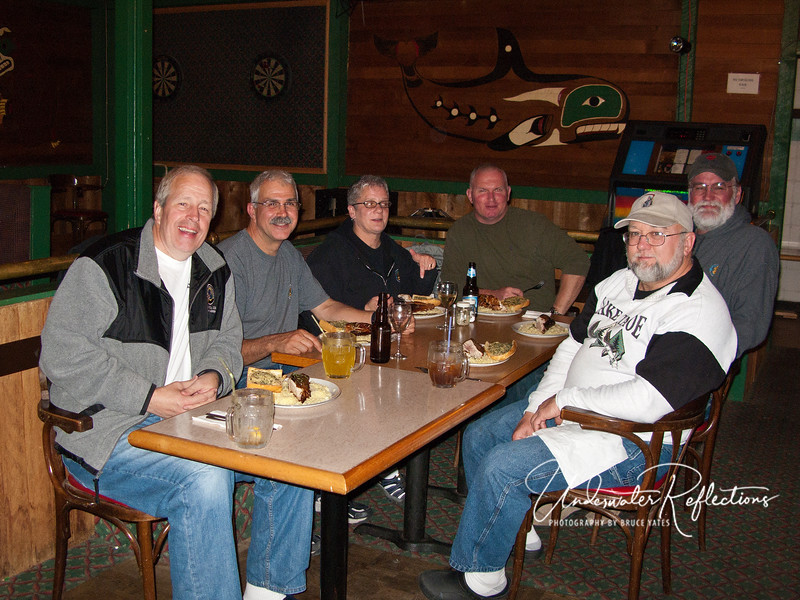 L to R: Bruce, Scott, Jude, Curt, Bob and John.