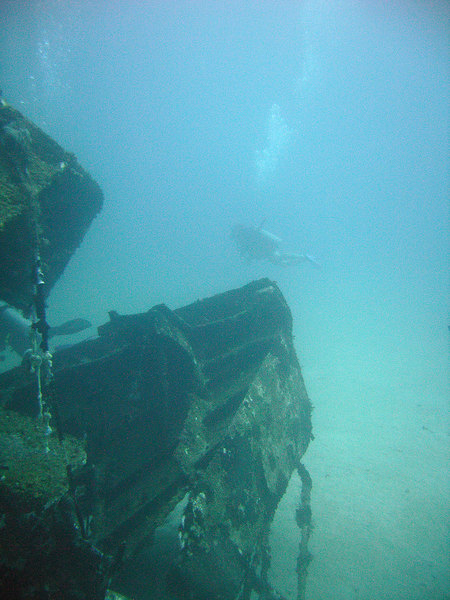 The wreck of the Star Gerren.