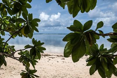 Orange Beach  Scene of the Allied invasion of the Japanese-held island of Peleliu.  Palau