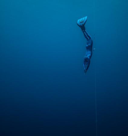 Adam stern Descends to 106 meters