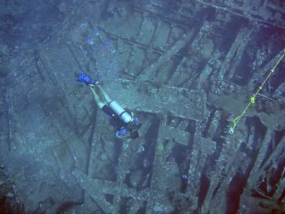 Peter Island Scuba Wreck of the Rhone