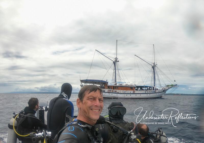 Adrian takes a Siren selfie