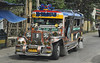 Primary mode of public transportation in the Philippines - the Jeepney.