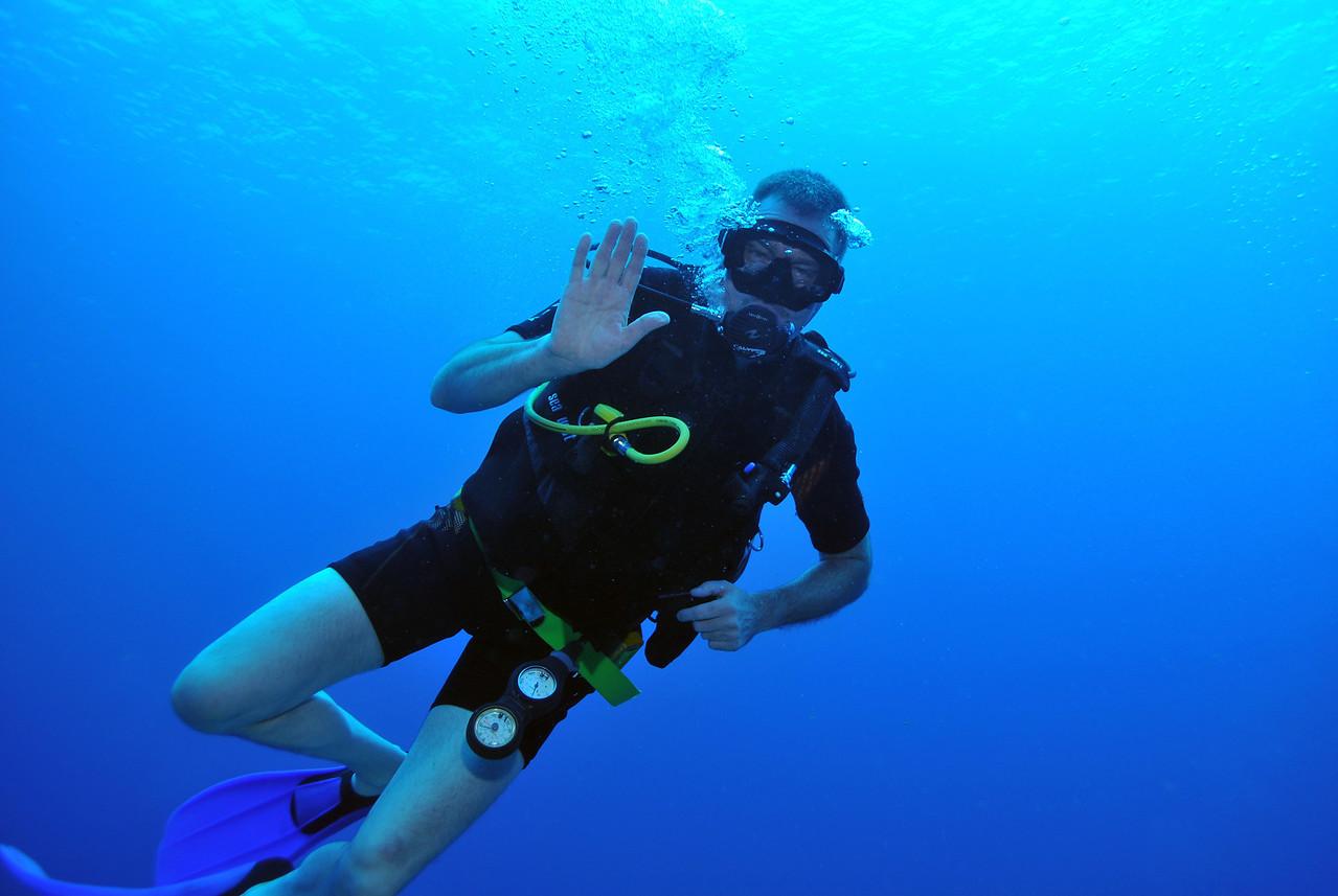 Marc Craig, Tortuga Reef, Cancun - November 2012
