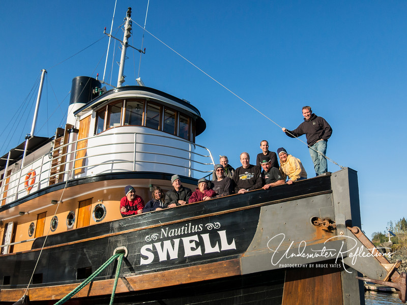One last view of the group and the boat (over 100 years old, but rebuilt top-to-bottom a few years ago).