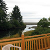 View from back deck at B&B<br /> Winter Summer Inn, Clallam Bay, WA
