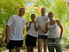 Obviously very serious business: My dive guides: Marco and the lovely Stephanie and Katy - with yours truly in between.