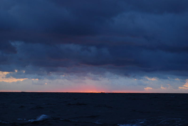 A stormy return