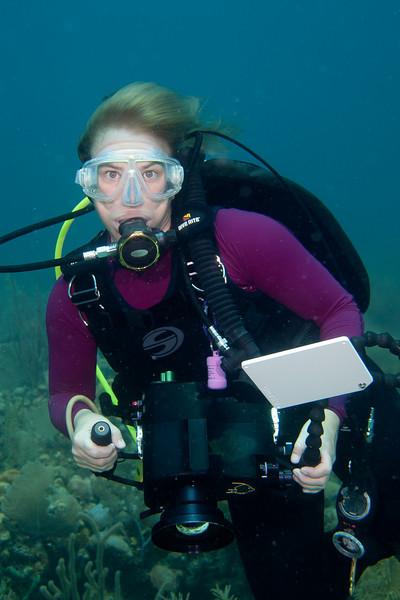 Janet Mantell, videographer.