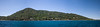 This series of shots stitched together in Photoshop was taken off the back of the dive boat during one of our surface intervals.